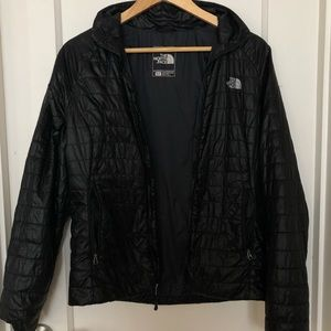 North Face Puffer Zip-up